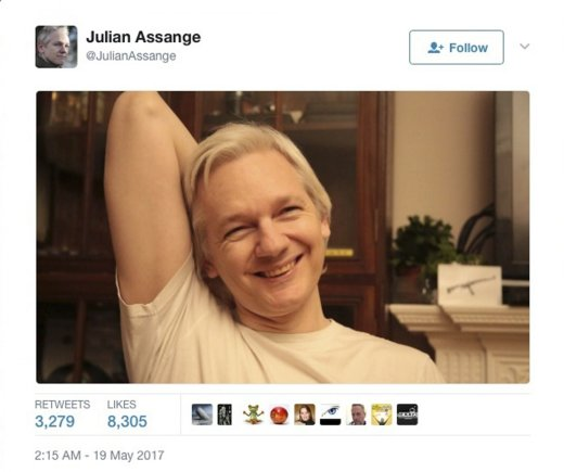 """Scanpix""/AP nuotr./Julianas Assange'as"