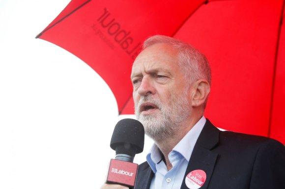 """""""Reuters""""/""""Scanpix"""" nuotr./Jungtinės Karalystės Leiboristų partijos lyderis Jeremy Corbynas"""