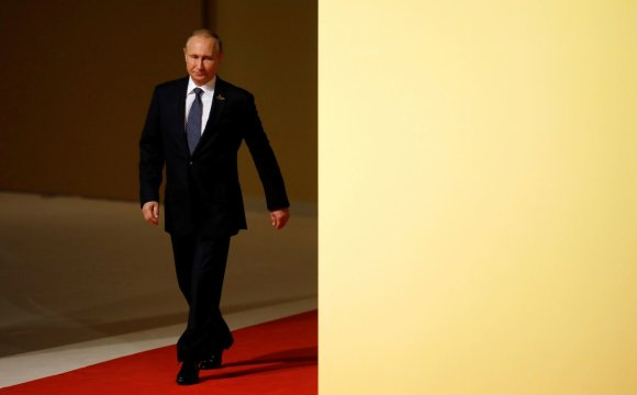 """""""Reuters""""/""""Scanpix"""" nuotr./Putinas atvyko į G-20 viršūnių susitikimą Hamburge"""