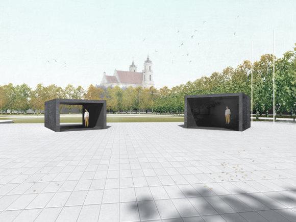 Dariaus Žiūros pasiūlymas Lukiškių aikštės memorialui