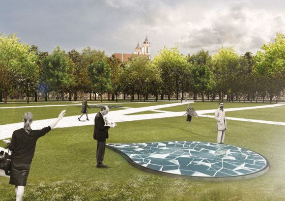 Algimanto Lelešiaus pasiūlymas Lukiškių aikštės memorialui
