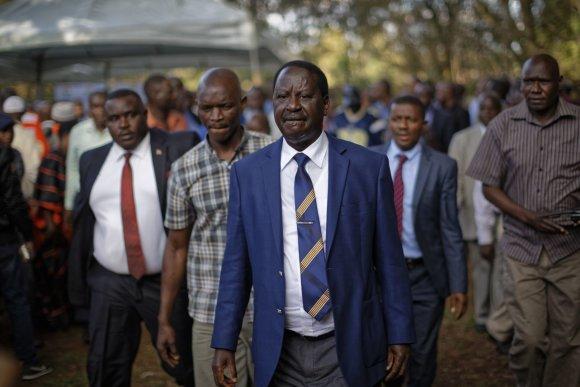 """Scanpix""/AP nuotr./Raila Odinga"