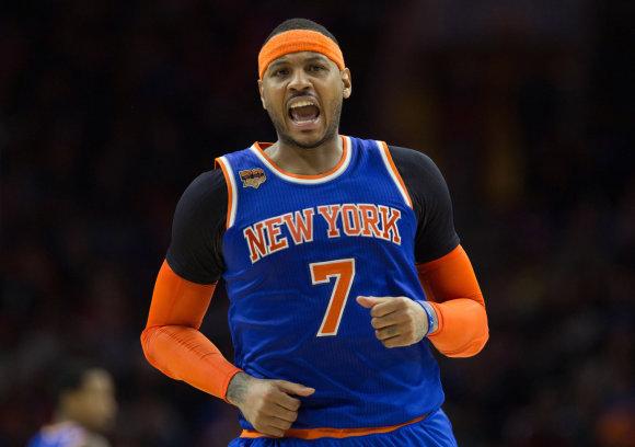 """Scanpix""/AP nuotr./Carmelo Anthony"