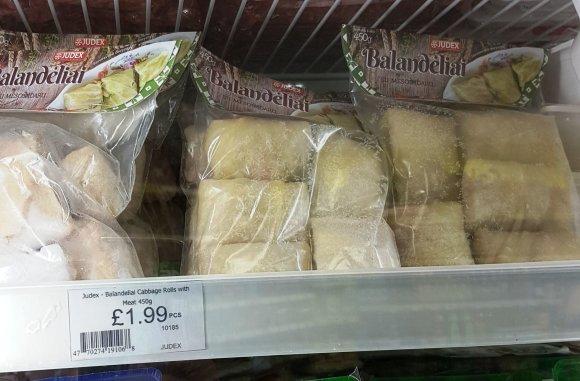Lietuvių parduotuvėse Londone gausu pačios įvairiausios nebeveikiančios įmonės produktų.
