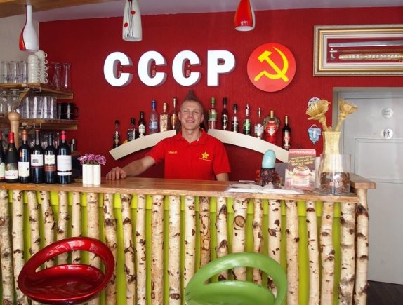 Nuotrauka iš asmeninio albumo./Restorano CCCP vadovas, Rimantas Taralis.