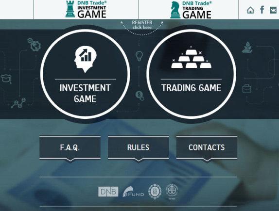 """Projekto partnerio nuotr./""""DNB Trade Investment Game"""" ir """"DNB Trade Trading Game"""" žaidimai"""