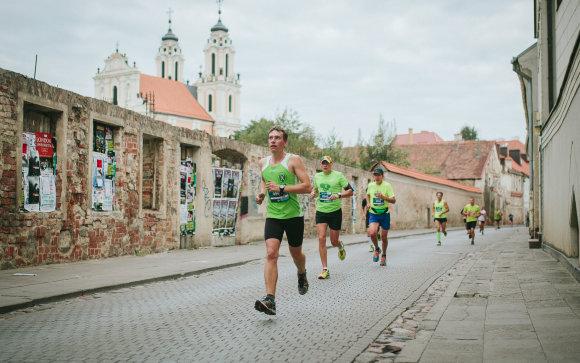 Projekto partnerio nuotr./Tradicinis maratonas Vilniuje