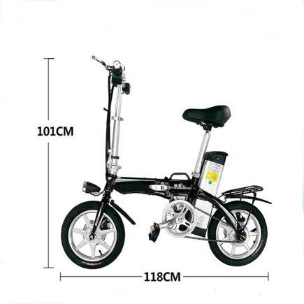 Projekto partnerio nuotr./Elektrinis sulankstomas dviratis X3