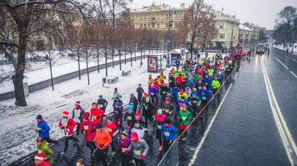 L. Barono nuotr./Eurovaistinės Kalėdinis bėgimas