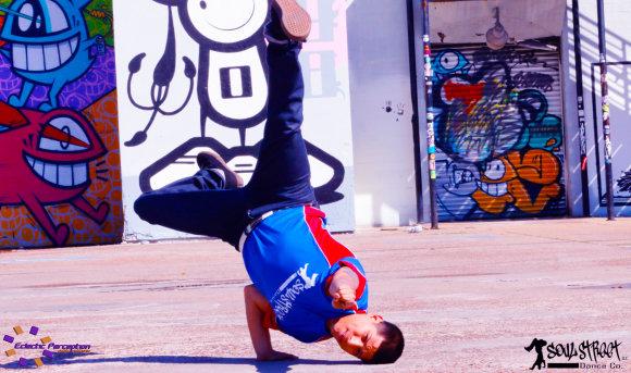 """Organizatorių nuotr./Amerikiečių """"Soul street dance"""" trupė"""