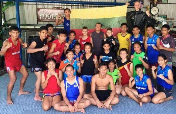 Andrejaus Zemitano nuotr./Lietuvos kovotojai pasaulio Muaythai čempionate Tailande