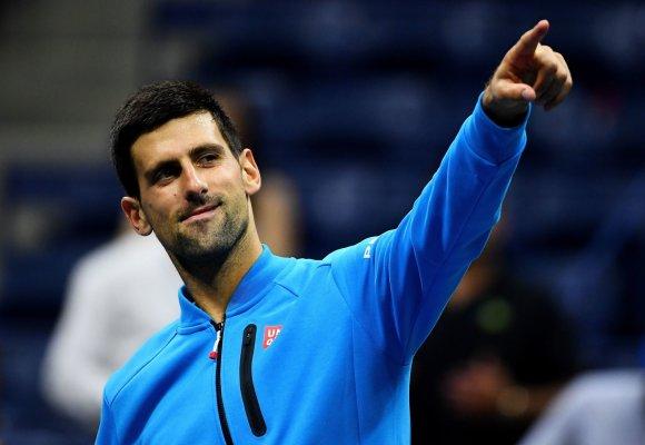 """""""Scanpix"""" nuotr./Novakui Džokovičiui įskaityta pergalė prieš Jo-Wilfriedą Tsongą"""