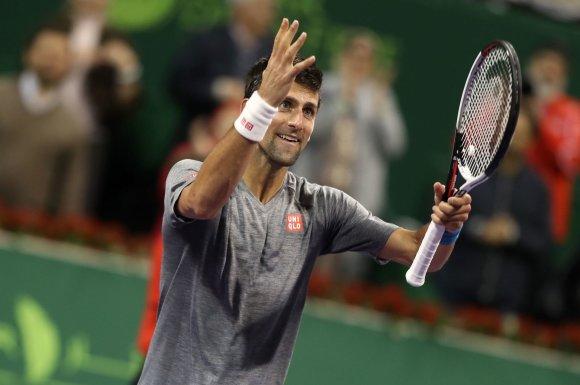 """""""Scanpix"""" nuotr./Novakas Džokovičius prieš Andy Murray"""