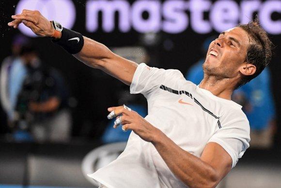 """""""Scanpix"""" nuotr./Rafaelis Nadalis prieš Gaelį Monfilsą"""