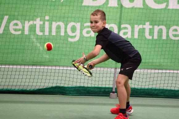 Organizatorių nuotr./Vilniaus teniso akademijos auklėtiniai