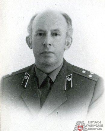 Lietuvos ypatingojo archyvo nuotr./Lietuvos KGB pirmininkas Eduardas Eismuntas