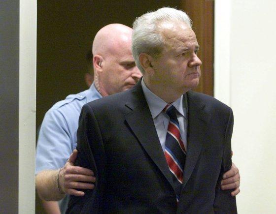 "AFP/""Scanpix"" nuotr./Slobodanas Miloševičius"