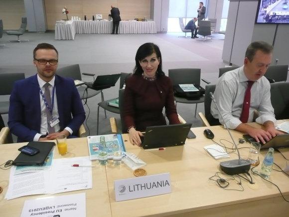 Aplinkos ministerijos nuotr./ES ministrų susitikimas Latvijoje