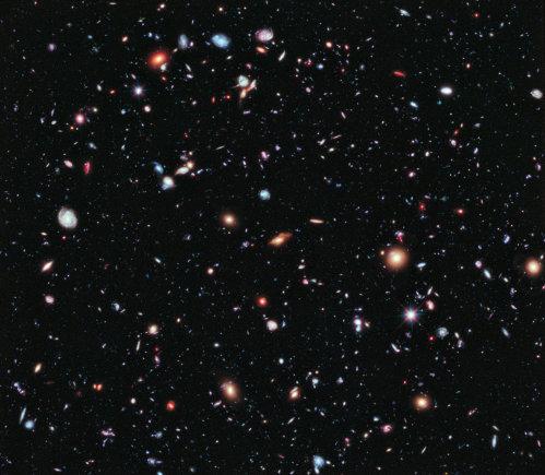 NASA/ESA nuotr./Hubble Extreme Deep Field