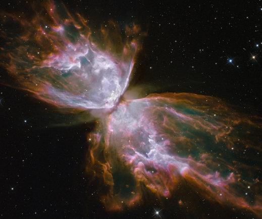 NASA/ESA nuotr./Drugelio ūkas NGC 6032