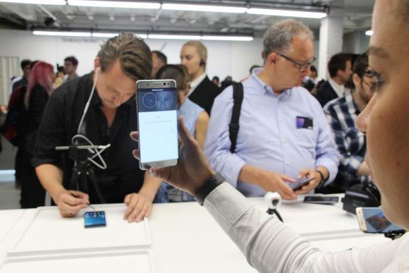 """Pauliaus Grinkevičiaus nuotr./""""Samsung Galaxy Note 7"""""""