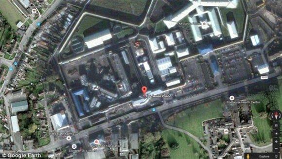 Google Earth/Portlaoise kalėjimas, Airija