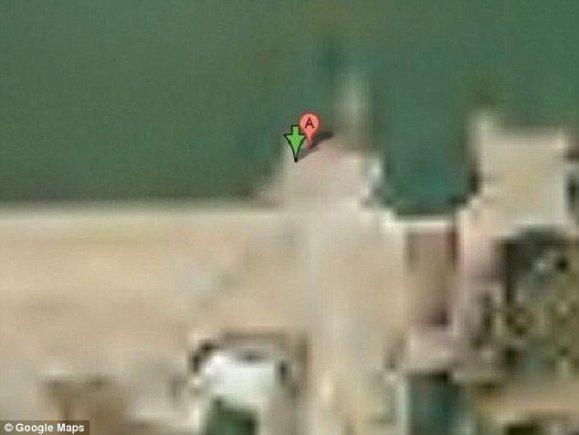 Google Earth/Keowee užtvanka, JAV