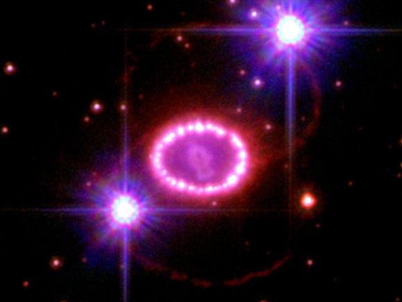 NASA/ESA nuotr./Supernova 1987A