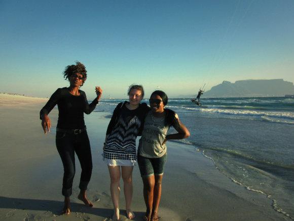Egzotiška, bet produktyvi ir naudinga praktika Pietų Afrikos Respublikoje. Asmeninio archyvo nuotr.