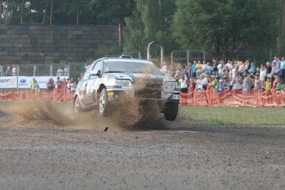 """Tomo Markelevičiaus nuotr./""""300 Lakes Rally"""" varžybos"""