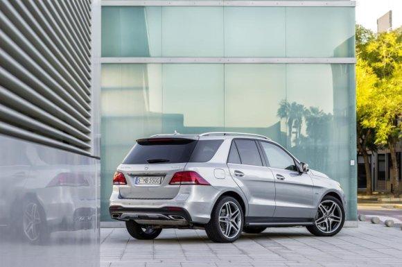 """""""Mercedes-Benz"""" nuotr./""""Mercedes-Benz GLE 500 e"""""""