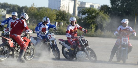 Organizatorių nuotr./Motobolas