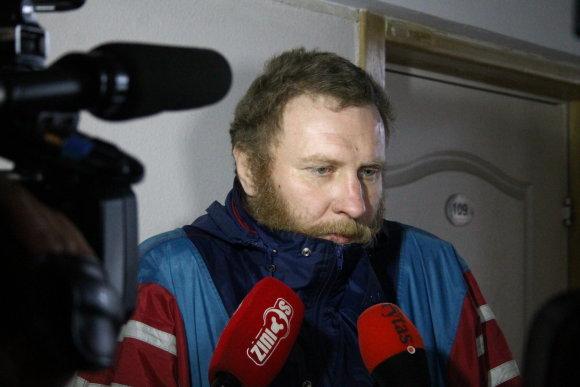 Tomo Markelevičiaus nuotr./Nuteistojo dėdė