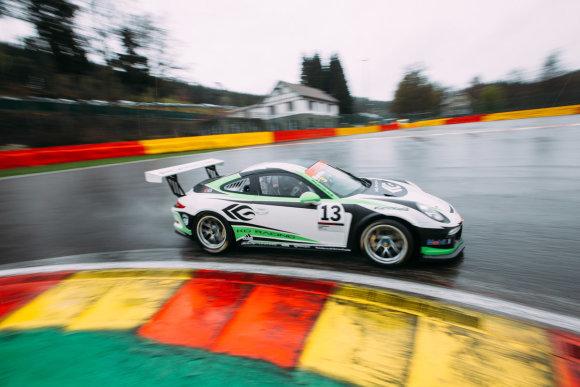 """Organizatorių nuotr./""""Porsche Carrera Cup GB"""""""