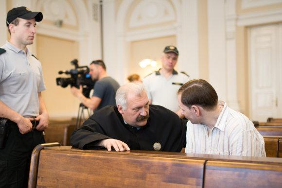 Karolinos Pansevič nuotr./Konstantino Michailovo apeliacinės bylos posėdis birželio 6 d.