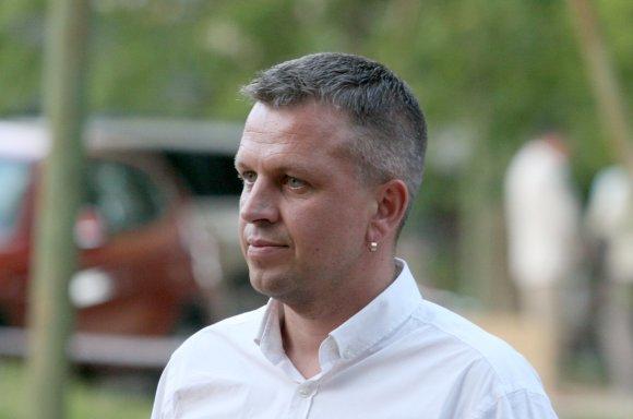 Alvydo Januševičiaus nuotr./Mindaugas Balčiūnas, Žagarės regioninio parko direktorius