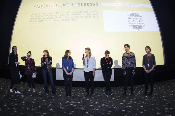 Studentų filmų konkurse dalyvaujančių filmų kūrėjai