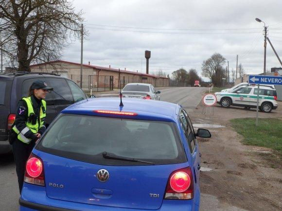 Kauno apskrities VPK/Policijos reidas