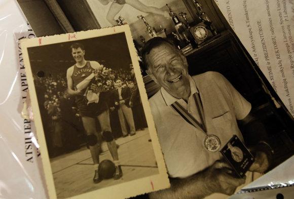 Skirmantas Karalevičius apie pergalę Europos krepšinio čempionate prieš 75 metus