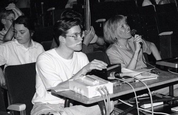 """""""Facebook"""" nuotr./Emmaneulis Macronas ir Brigitte Trogneux devintajame dešimtmetyje"""