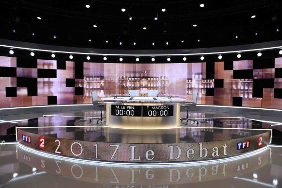 """AFP/""""Scanpix"""" nuotr./Debatai vyks šioje studijoje"""
