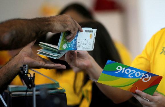 Bilietų pardavimai Rio