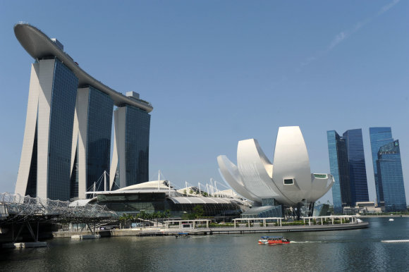 "AFP/""Scanpix"" nuotr./Marina Bay Sands"