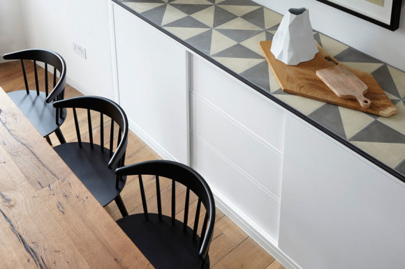 Jacko Hobhouse'o nuotr./ risedesignstudio.co.uk/Buto Londone interjeras