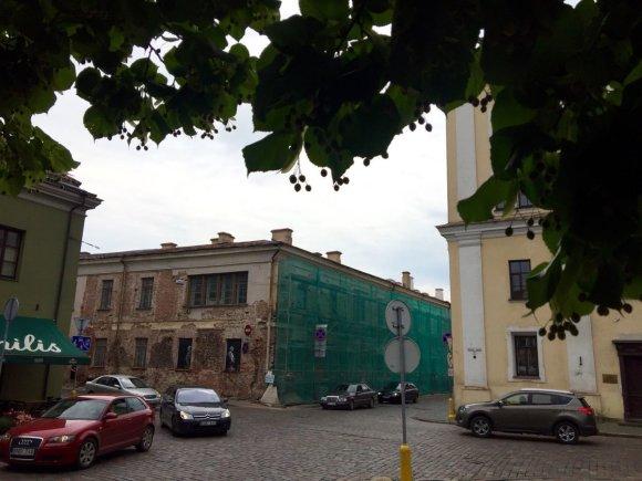 Eriko Ovčarenko / 15min nuotr./Buvusi karališkoji rezidencija Kaune