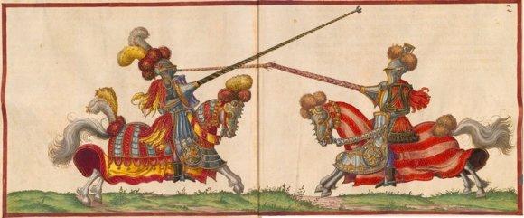 Riterių turnyras, XVI a.