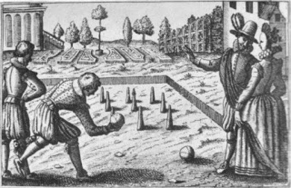 Kroketo žaidėjas, Oksfordas, XIV a. vidurys