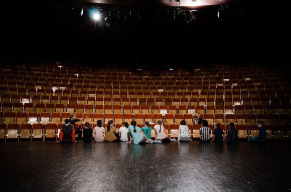 """Organizatorių nuotr./""""Keistuolių teatro"""" Dienos kūrybiškumo stovykla"""