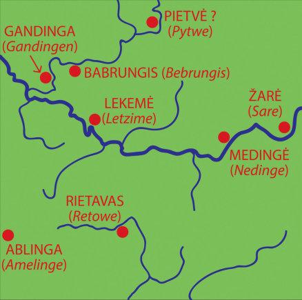 Vytenio Almonaičio nuotr./Ceklio žemės vietovardžiai (1253 m.)