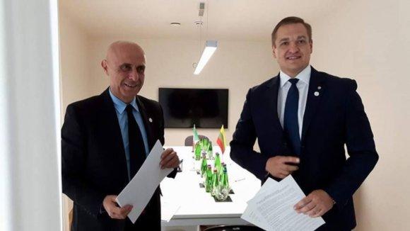 VRM nuotr./Lietuva galutinai sutarė su Italija dėl pabėgėlių apklausų